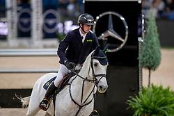 Hassmann Felix, GER, Cayenne WZ<br /> Stuttgart - German Masters 2018<br /> © Hippo Foto - Stefan Lafrentz