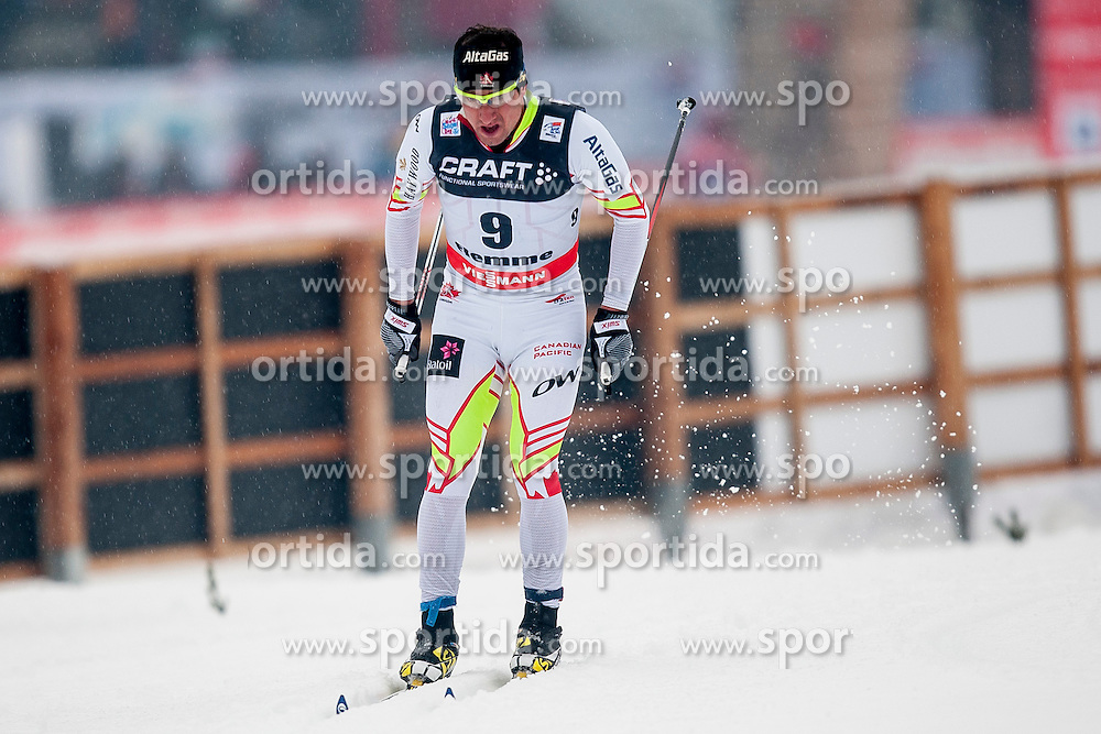 Ivan Babikov of Canada during mens 10km Classic individual start of the Tour de Ski 2014 of the FIS cross country World cup on January 4th, 2014 in Cross Country Centre Lago di Tesero, Val di Fiemme, Italy. (Photo by Urban Urbanc / Sportida)