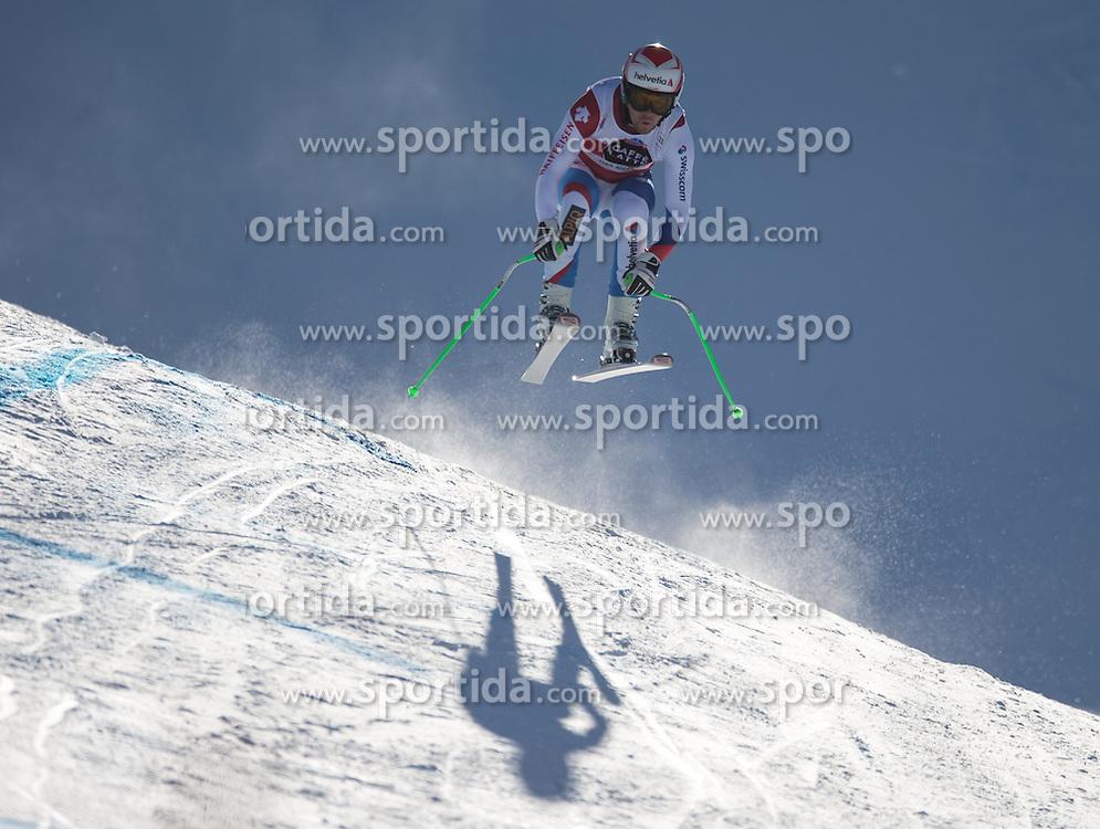 19.12.2014, Saslong, Groeden, ITA, FIS Ski Weltcup, Abfahrt, Herren, im Bild Sandro Viletta (SUI) // Sandro Viletta of Switzerland in action during men's downhill race of the Groeden FIS Ski Alpine World Cup at the Saslong Course in Gardena, Italy on 2014/12/19. EXPA Pictures © 2014, PhotoCredit: EXPA/ Johann Groder