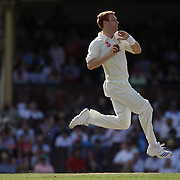Australian bowler Andrew McDonald in action during day two of the third test match between Australia and South Africa at the Sydney Cricket Ground on January 4, 2009 in Sydney, Australia. Photo Tim Clayton