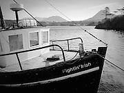 Connemara Boat. Flghtin' Irish
