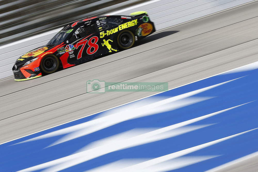 November 3, 2018 - Ft. Worth, Texas, United States of America - Martin Truex, Jr (78) takes to the track to practice for the AAA Texas 500 at Texas Motor Speedway in Ft. Worth, Texas. (Credit Image: © Justin R. Noe Asp Inc/ASP via ZUMA Wire)