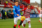 *** during the Ladbrokes Scottish Premiership match between Hamilton Academical FC and Rangers at The Hope CBD Stadium, Hamilton, Scotland on 24 February 2019.