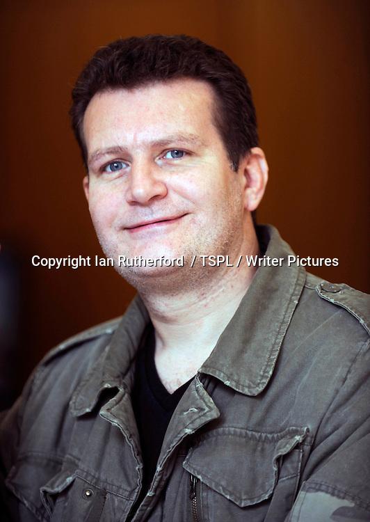 Ferg Handley, &lsquo;Commando&rsquo; comic book designer, in Edinburgh, Scotland, September 15, 2010.<br /> <br /> Copyright Ian Georgeson  / TSPL / Writer Pictures<br /> Contact +44 (0)20 822 41564<br /> info@writerpictures.com<br /> www.writerpictures.com