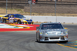 June 24, 2011; Sonoma, CA, USA;  NASCAR Sprint Cup Series driver Terry Labonte (32) drives through turn 7 during practice for the Toyota/Save Mart 350 at Infineon Raceway.