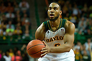 WACO, TX - JANUARY 25: Rico Gathers #2 of the Baylor Bears shoots a free-throw against the Texas Longhorns on January 25, 2014 at the Ferrell Center in Waco, Texas.  (Photo by Cooper Neill/Getty Images) *** Local Caption *** Rico Gathers