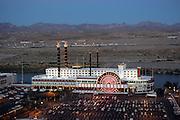 "US-LAUGHLIN: Hotel/Casino ""Colorado Belle"". PHOTO: GERRIT DE HEUS"