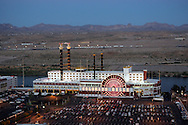 "US-LAUGHLIN: Hotel/Casino ""Colorado Belle"". PHOTO: GERRIT DE HEUS"