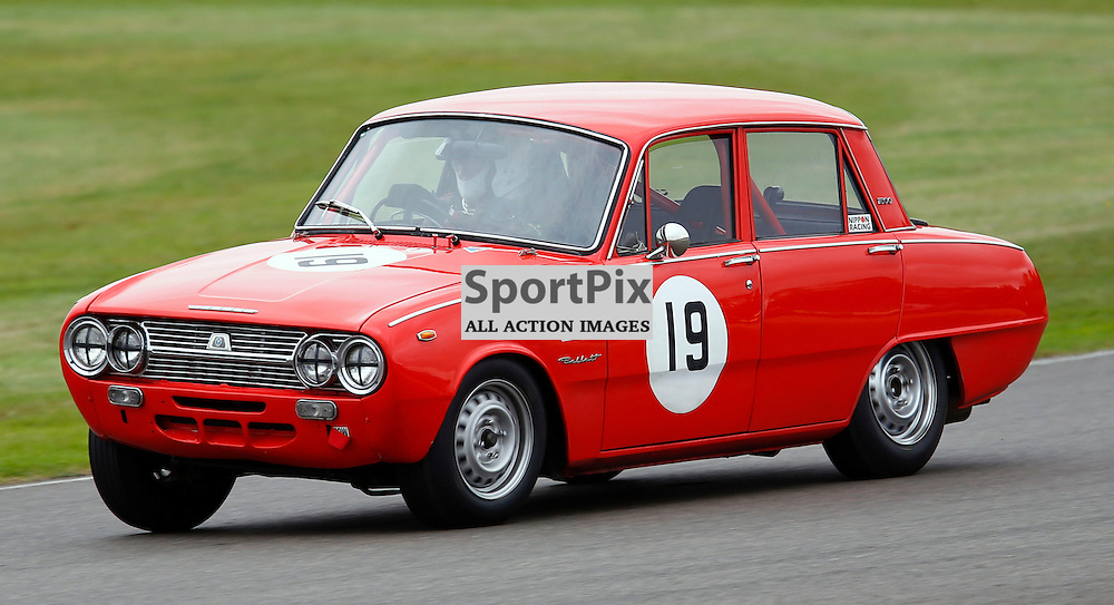 GOODWOOD REVIVAL......Alec Poole in a 1965 Isuzu Bellett competing in the St. Mary's Trophy race part 1...(c) STEPHEN LAWSON | SportPix.org.uk