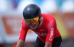 Wales' Peter Kibble in action during the Men's Individual Time Trial at Currumbin Beachfront on day six of the 2018 Commonwealth Games in the Gold Coast, Australia.