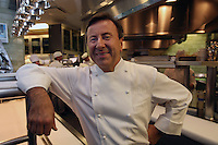 Chef Daniel Boulud.... in his New York kitchen