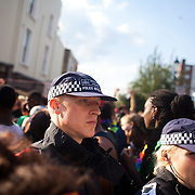 Portobello Road is rammed with party-goers and spectators and the police is everywhere to keep and eye on the crowd to keep the peace. The Notting Hill Carnival has been running since 1966 and is every year attended by up to a million people. The carnival is a mix of amazing dance parades and street parties with a distinct Caribbean feel.