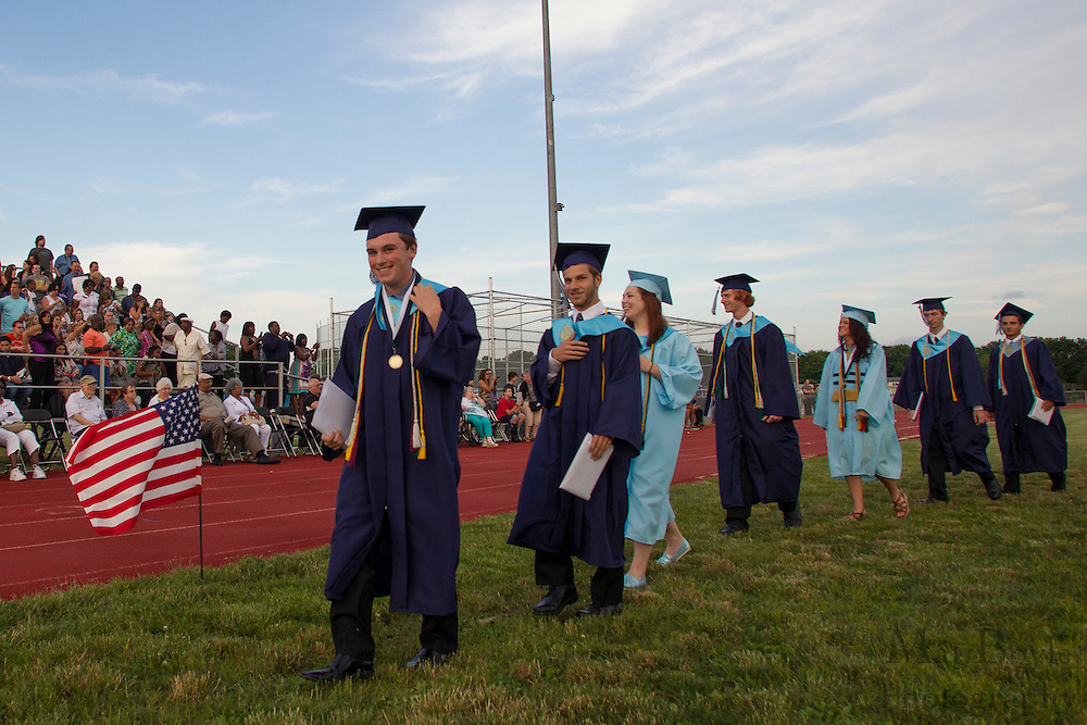 Highland Graduation on Thursday June 6, 2012. (photo / Mat Boyle)