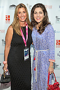 Alexa Georges and Rita Benson LeBlanc on the red carpet during opening night of the 25th Anniversary New Orleans Film Festival; Opening night film is 'Black and White' directed by Mike Binder
