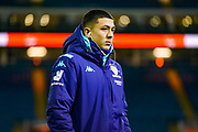 Leeds United forward Ian Poveda (7) arrives at the ground during the EFL Sky Bet Championship match between Leeds United and Millwall at Elland Road, Leeds, England on 28 January 2020.