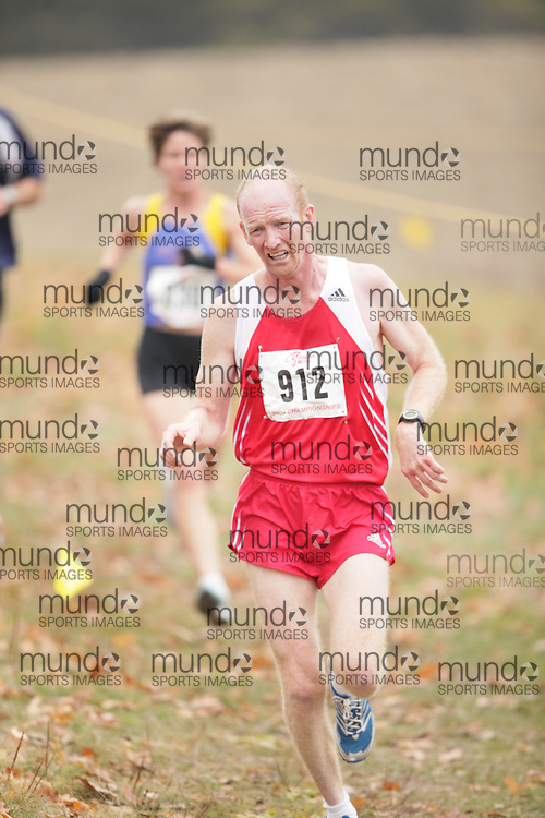 King City, Ontario ---09-11-15--- Desmond Moloney of the Unattached competes at the Athletics Ontario Cross Country Championships in King City, Ontario, November 16, 2009..GEOFF ROBINS Mundo Sport Images