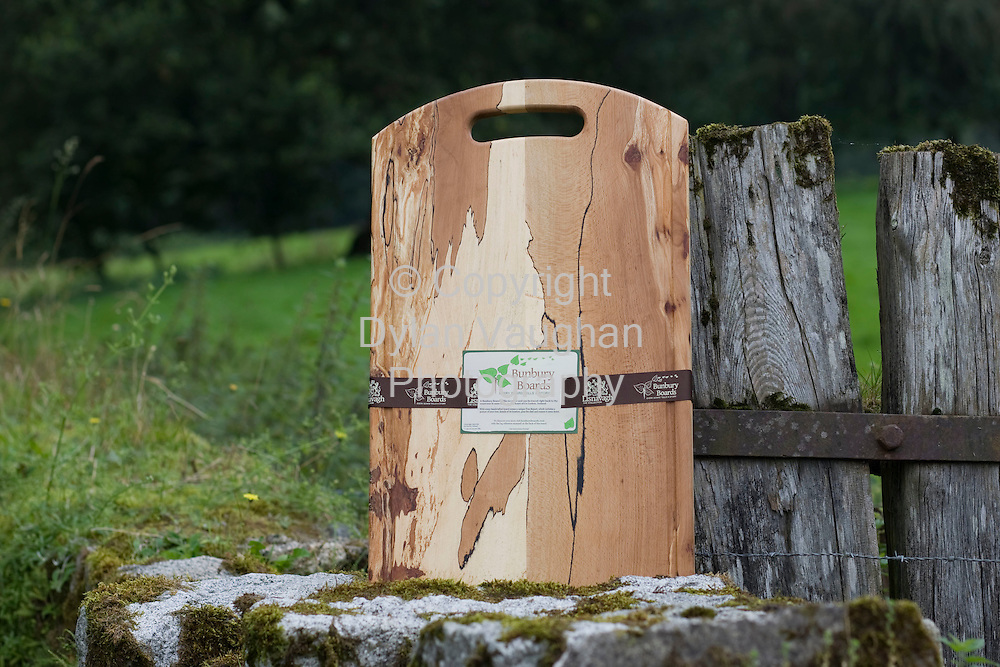 29/8/2008.One of the chopping boards which is made at Lisnavagh House in Carlow.Picture Dylan Vaughan.