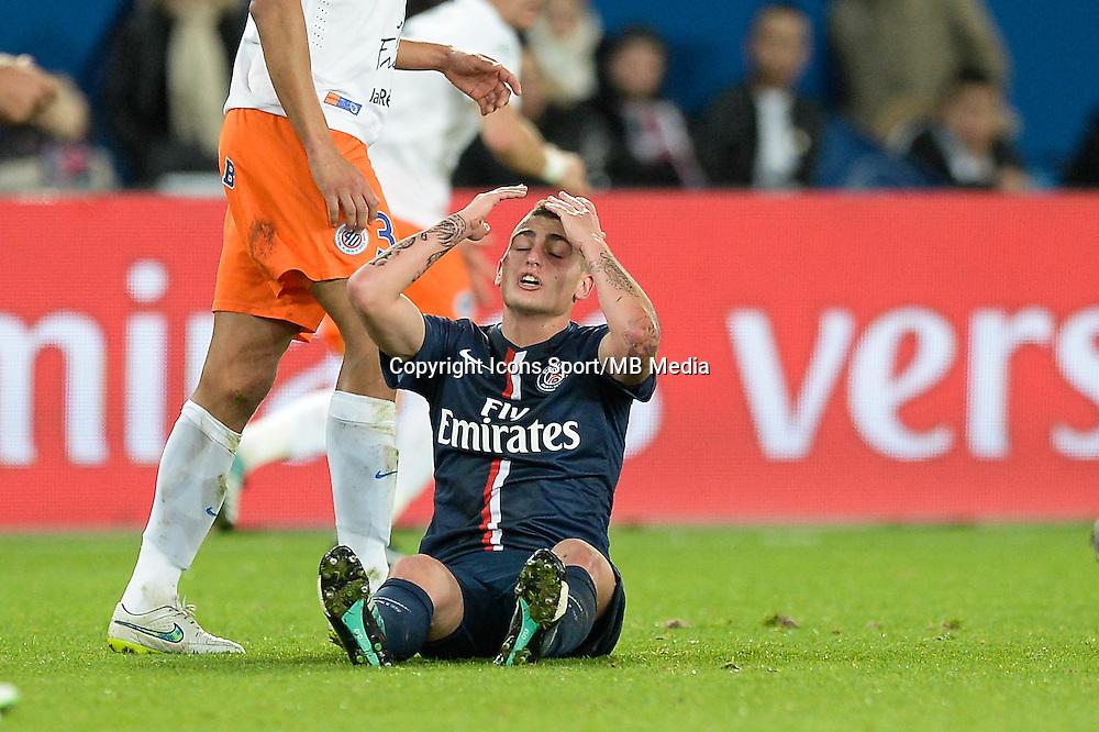 Marco VERRATTI - 20.12.2014 - Paris Saint Germain / Montpellier - 17eme journee de Ligue 1 -<br />Photo : Aurelien Meunier / Icon Sport
