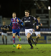 30th January 2018, Tulloch Caledonian Stadium, Inverness, Scotland; Scottish Cup 4th round replay, Inverness Caledonian Thistle versus Dundee; Dundee's Lewis Spence returned from injury as a half time substitute