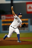 May 12, 2007: Starting pitcher Brad Penny moved to 5-0 for the first time in his career as the Los Angeles Dodgers defeated the Cincinnati Reds 7-3 at Dodger Stadium in Los Angeles, CA.