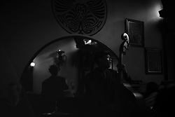 "Double bass player Bill ""Magic"" Lavender, 2014, Washington, D.C.."