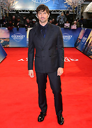 Michiel Huisman attending The Guernsey Literary and Potato Peel Pie Society world premiere held at Curzon Mayfair, London.