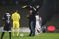 FOOTBALL - FRENCH CHAMPIONSHIP 2012/2013 - L1 - GIRONDINS BORDEAUX v LILLE OSC  - 19/10/2012 - PHOTO MANUEL BLONDEAU / DPPI - TONY ESTANGUET