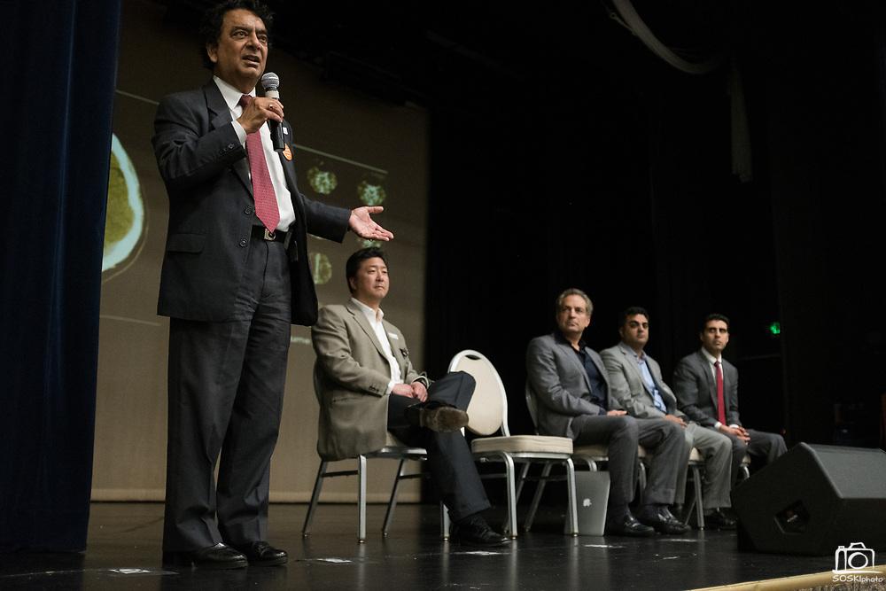 Good Samaritan Hospital hosts their Stroke Education Reception at Addison-Penzak Jewish Community Center of Silicon Valley in Los Gatos, California, on May 24, 2017. (Stan Olszewski/SOSKIphoto)