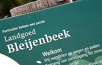 AFFERDEN -  Golfbaan op Landgoed Bleijenbeek. COPYRIGHT KOEN SUYK