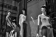 Mannequins on Fifth Avenue.