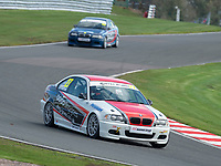 #27 Lewis CARTER BMW 330  during K-Tec Racing Clio 182 Championship as part of the 750 Motor Club at Oulton Park, Little Budworth, Cheshire, United Kingdom. April 14 2018. World Copyright Peter Taylor/PSP.