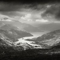 Loch Lomond and Ben Lomond from Beinn Dubhchraig, Southern Highlands