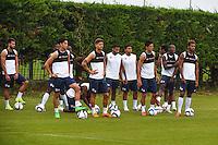 Debut de l'entrainement  - 30.06.2015 - Reprise de Montpellier - 2015/2016<br />Photo : Alexandre Dimou / Icon Sport