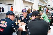 October 20, 2016: United States Grand Prix. Pierre Gasly, Max Verstappen, Conor Daly