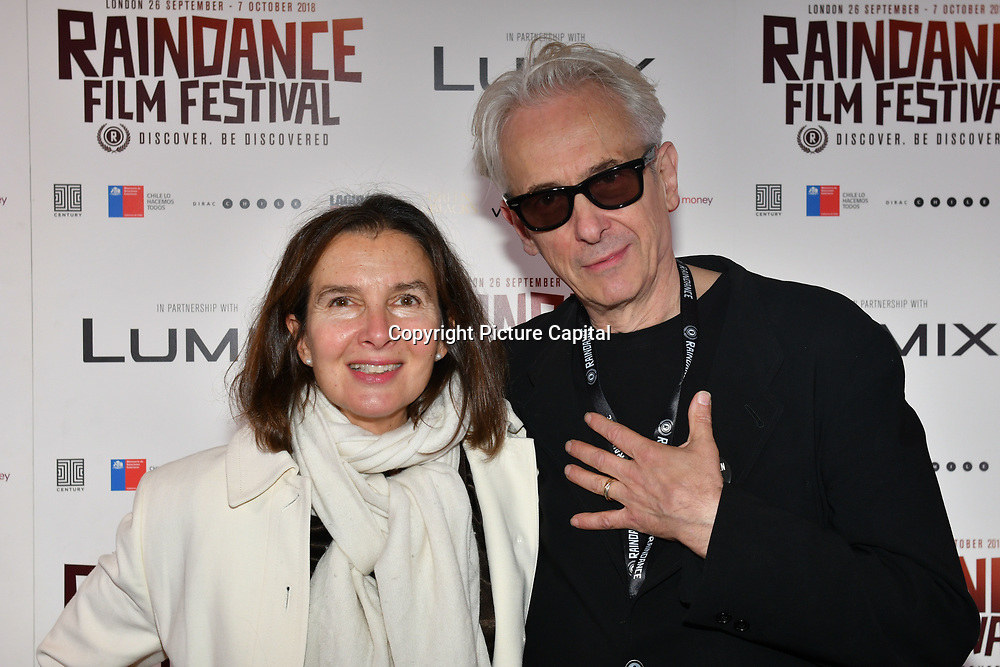 The Telegraphy and Elliot Grove attend 'Souls of Totality' film at Raindance Film Festival 2018, London, UK. 30 September 2018.