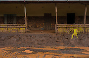 A small market affected by a flood of mud in Paracatu de Baixo, one of the districts of Mariana, a brazilian city in the state of Minas Gerais. On november 5th, a mining waste dam failed causing a flood of mud.