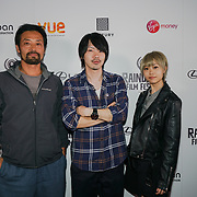 London, England, UK. 28th September 2017.Matsumoto,Kentaro Kishi,Urara Aujo of Noise attend Raindance Film Festival Screening at Vue Leicester Square, London, UK.