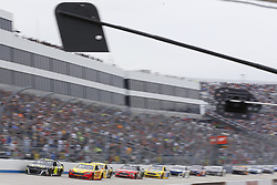 May 6, 2018 - Dover, Delaware, United States of America - Joey Logano (22) brings his race car down the front stretch during the AAA 400 Drive for Autism at Dover International Speedway in Dover, Delaware. (Credit Image: © Chris Owens Asp Inc/ASP via ZUMA Wire)
