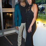 NLD/Hilversum/20131125 - Inloop Musical Awards Gala 2013, Edwin Jonker en partner Melanie