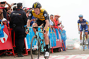 Steven Kruijswijk (NED, Team LottoNL Jumbo) during the 73th Edition of the 2018 Tour of Spain, Vuelta Espana 2018, Stage 15 cycling race, 15th stage Ribera de Arriba - Lagos de Covadonga 178,2 km on September 9, 2018 in Spain - Photo Luis Angel Gomez/ BettiniPhoto / ProSportsImages / DPPI