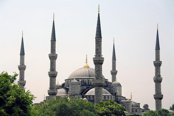 Turkije, Istanbul, 4-6-2011..De blauwe moskee, in sultanahmet...Foto: Flip Franssen
