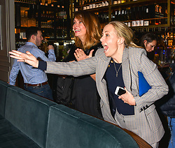 21 November 2019 - Astrid Harbord and Gabriella Peacock at the launch of Sam's Riverside Restaurant, 1 Crisp Walk, Hammersmith hosted by owner Sam Harrison, Edward Taylor and Jack Brooksbank.<br /> <br /> Photo by Dominic O'Neill/Desmond O'Neill Features Ltd.  +44(0)1306 731608  www.donfeatures.com
