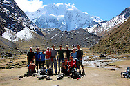 the crew at salkantaypampa