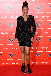 Jennifer Hudson attending The Voice UK 2019 Launch Photocall held at W Hotel, Leicester Square, London. Picture credit should read: Doug Peters/EMPICS