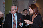 Alastair Rellie and Davina McCall. Launch of 'Lucy  Sykes Baby, New York' Selfridges. 14 April 2005. ONE TIME USE ONLY - DO NOT ARCHIVE  © Copyright Photograph by Dafydd Jones 66 Stockwell Park Rd. London SW9 0DA Tel 020 7733 0108 www.dafjones.com