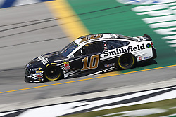 July 13, 2018 - Sparta, Kentucky, United States of America - Aric Almirola (10) brings his race car down the front stretch during practice for the Quaker State 400 at Kentucky Speedway in Sparta, Kentucky. (Credit Image: © Chris Owens Asp Inc/ASP via ZUMA Wire)