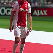 Amsterdam, 25-07-2013. Zo'n 20.000 fans waren naar de Amsterdam Arena gekomen voor de Open dag van Ajax. De spelers werden gepresenteerd  en trainden in de Arena. Foto: Derk Boerrigter.