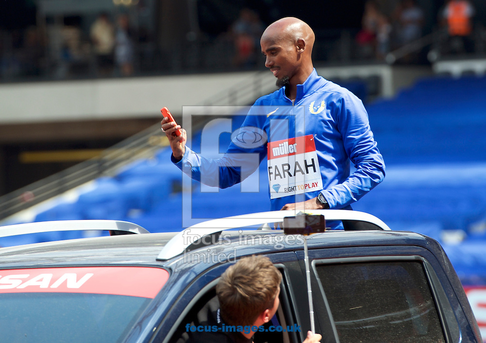 during the M&uuml;ller Anniversary Games in the Stadium at Queen Elizabeth Olympic Park, London, UK<br /> Picture by Alan Stanford/Focus Images Ltd +44 7915 056117<br /> 23/07/2016