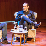 """NLD/Utrecht/20170513 - Boeklancering """"Ach, moedertje"""" geschreven door Hugo Borst, Jan Slagter interviewd Hugo Borst"""