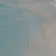 Wave on north beach, Isla Mujeres, Quintana Roo, MX.